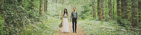 uit onze blog: bohemian wedding in the woods