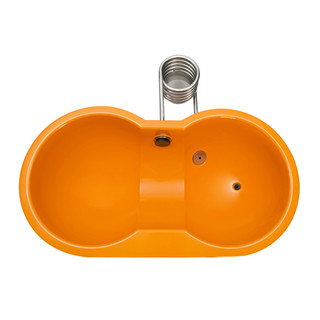 Dutchtub Loveseat Orange