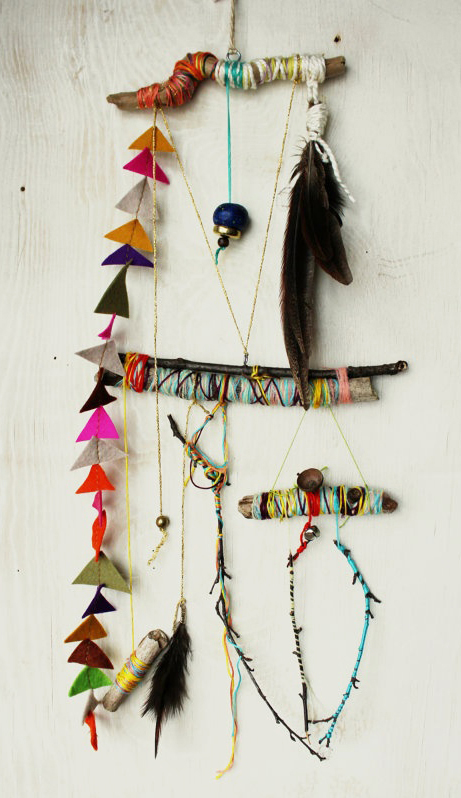 It's a system of strings - Folk art mobile .jpg